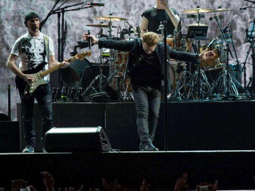 U2, la dedica di Bono infiamma Roma