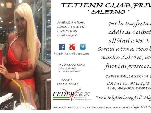 Al Club Privè Tetienn trasgressione con Kristel Bulgari