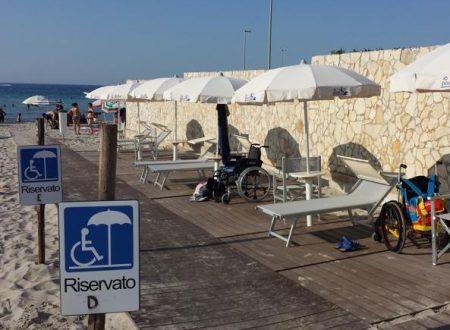 Le 5 spiagge più attrezzate per i disabili
