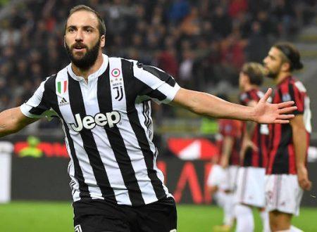 Serie A: Juventus nel segno di Higuain, Roma di misura