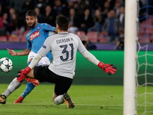 Champions League: Napoli, non basta Insigne: passa il City