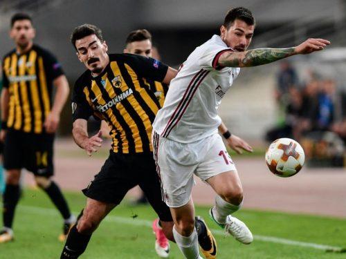 Europa League: il Milan delude, Montella rischia; Lazio ok