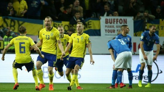 Russia 2018: Svezia-Italia 1-0, caro Ventura ti scrivo