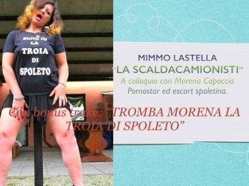 La vera storia della pornostar Morena Capoccia, raccontata in un libro intervista