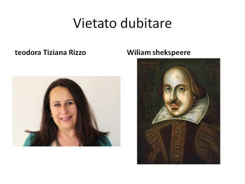 VIETATO DUBITARE