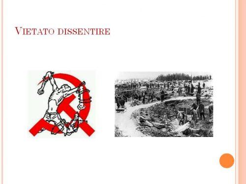 Per i sinistresi: vietato dissentire