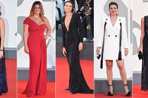 Mix di look nel red carpet della 77ma Mostra del cinema di Venezia