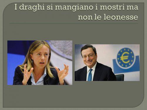 I Draghi, si mangiano i mostri ma non le leonesse