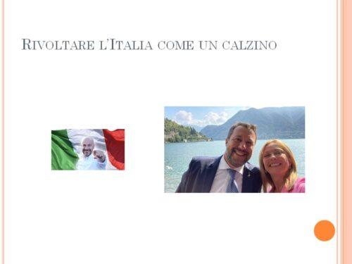 Rivoltare l'Italia, come un calzino (Mimmo Lastella)